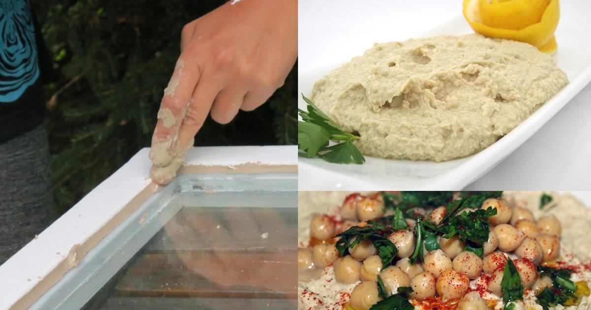 Noktara - Vielseitig - Hummus auch als Fensterkit einsetzbar
