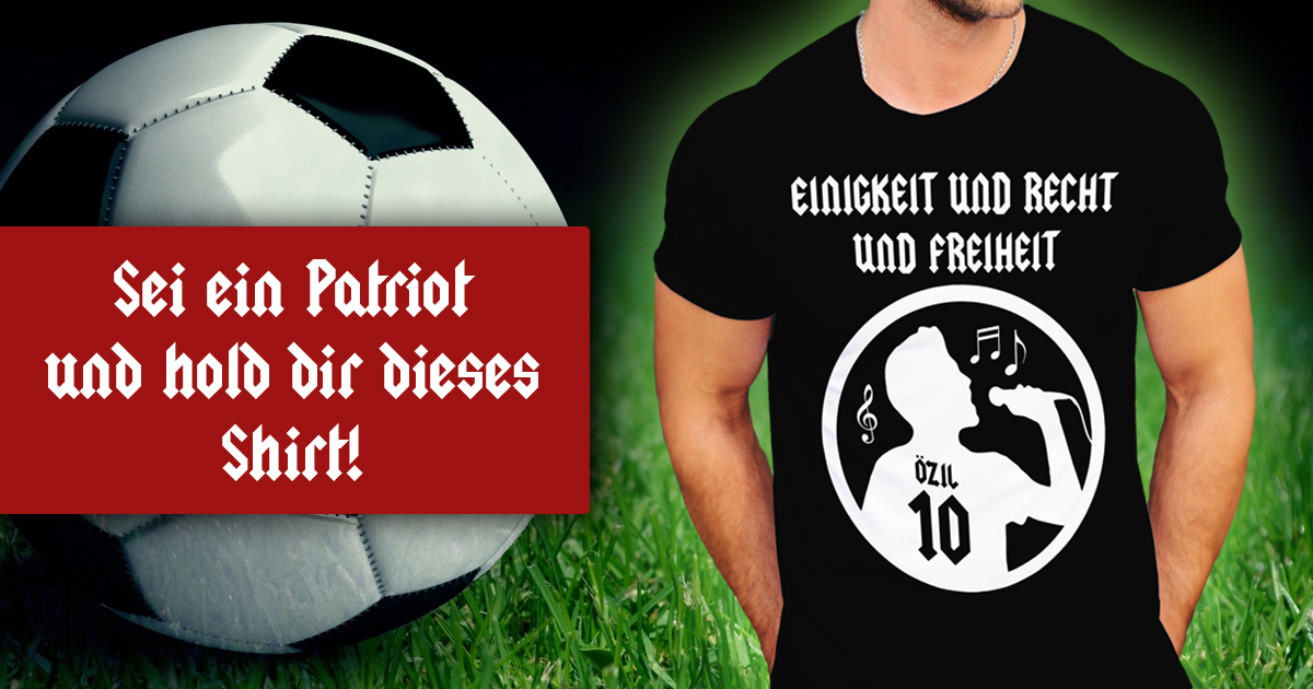 Nokatra - Mesut Özil singt die Nationalhymne Shirt
