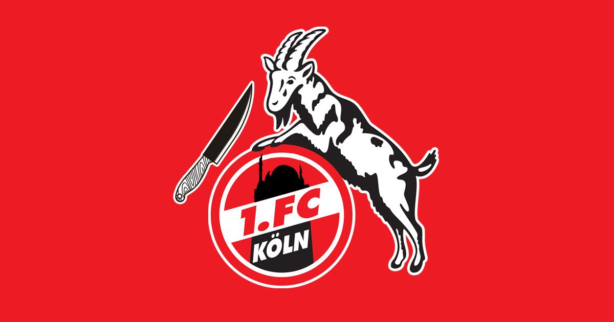 Noktara - 1. FC Köln stellt neues Vereinslogo mit Moschee und Halal Hennes vor - Vereinswappen