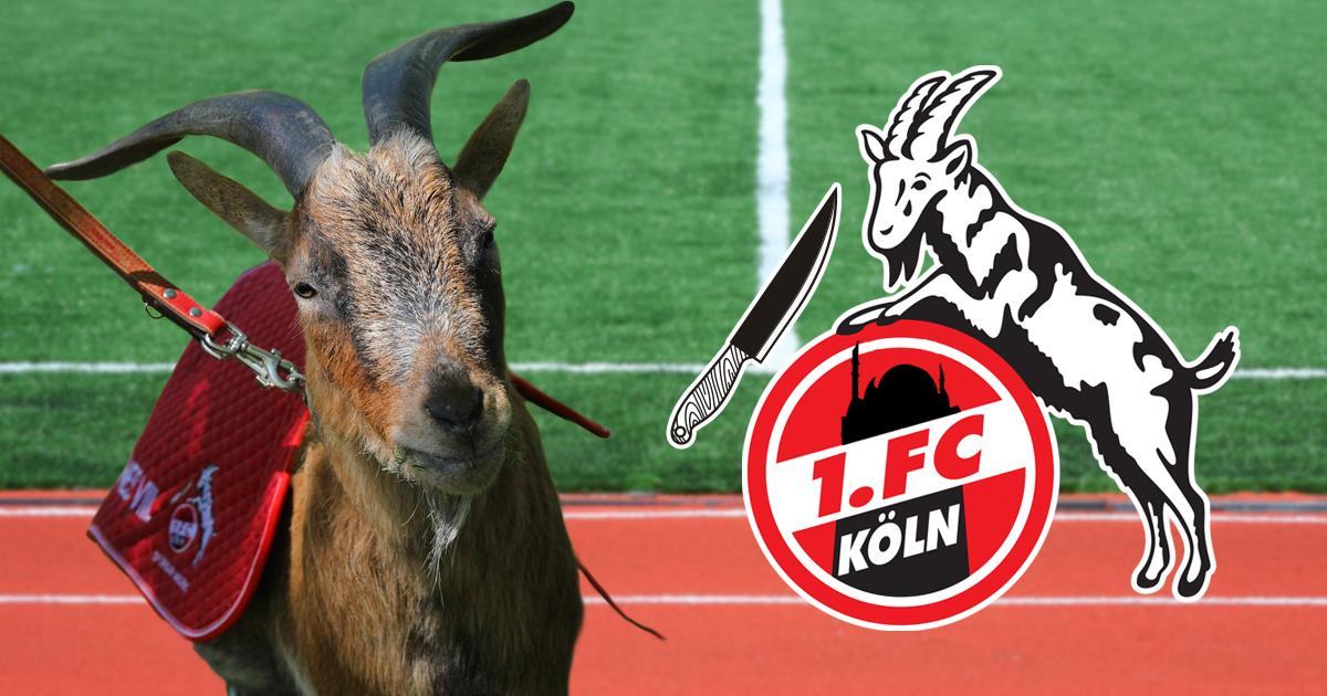 Noktara - 1. FC Köln stellt neues Vereinslogo mit Moschee und Halal Hennes vor