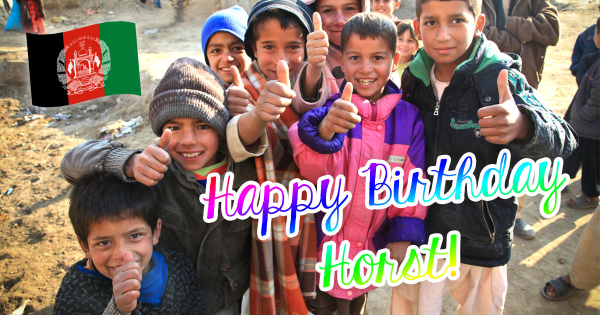 Noktara - 68 abgeschobene Afghanen gratulieren Seehofer zum Geburtstag
