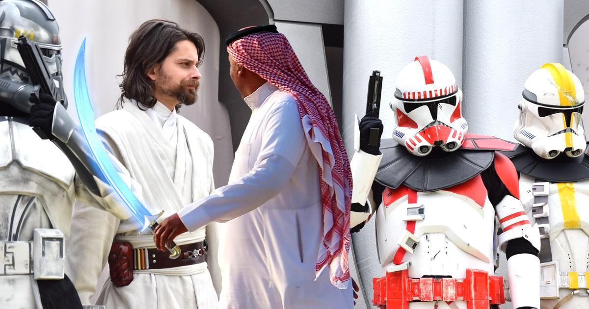 7 Dinge, die Jedis mit Muslimen gemeinsam haben
