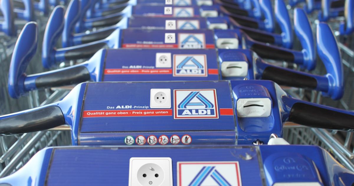 ALDI rüstet Einkaufswagen auf Elektroantrieb um
