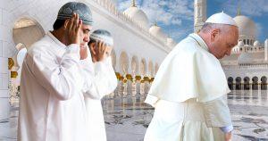 Noktara - Abu Dhabi - Papst betet Muslimen in Scheich-Zayid-Moschee vor