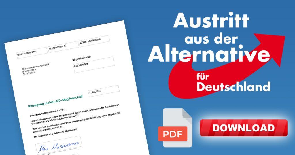 Noktara - AfD-Austritt - So einfach kannst du aus der Nazi-Partei austreten