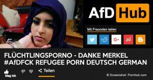 Noktara - AfD-Politiker teilt Flüchtlingsporno auf Twitter