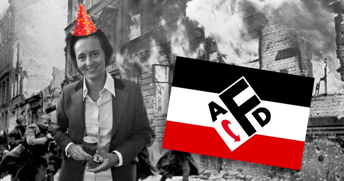 AfD feiert feuchtfröhliche Reichskristallnacht