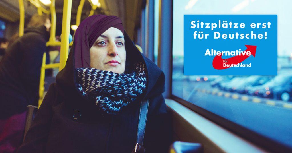 Noktara - AfD fordert, dass Muslime im Bus hinten sitzen sollen