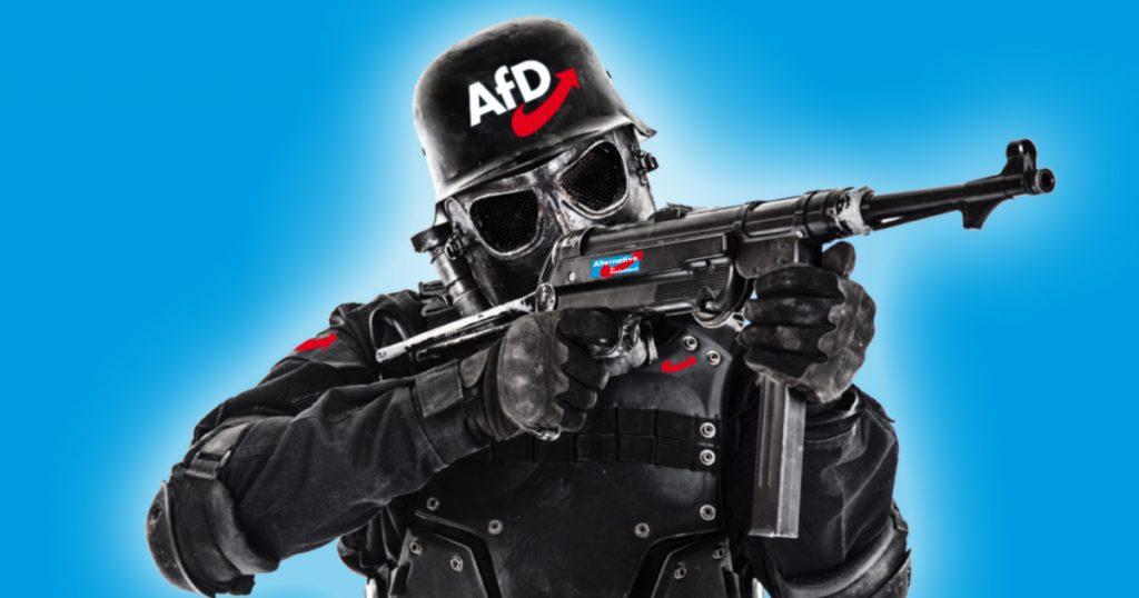Noktara - AfD gründet Waffen-SS, um die Grenzen zu sichern