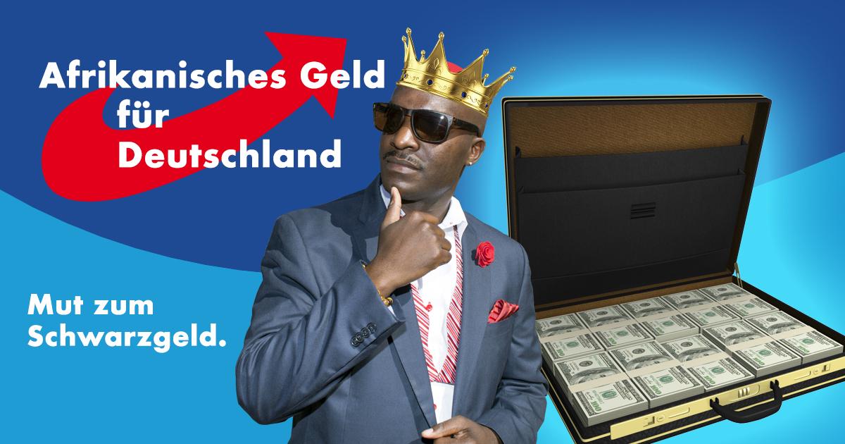 Noktara - AfD nimmt Schwarzgeld von nigerianischem Prinzen an