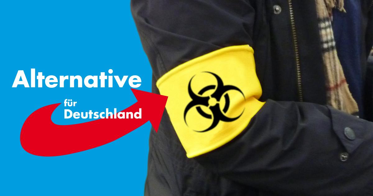 Noktara - AfD schlägt Armbinden als Alternative zum Immunitätsausweis vor