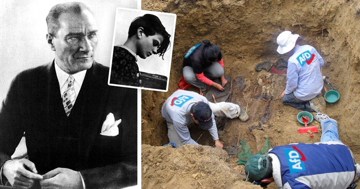 Noktara - AfD wegen Störung der Totenruhe angezeigt - Mustafa Kemal Atatürk und Sophie Scholl würden AfD wählen