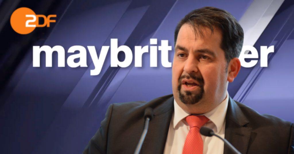 Noktara - Aiman Mazyek verwundert über 1½ Monate verspätete Einladung zu Maybrit Illner