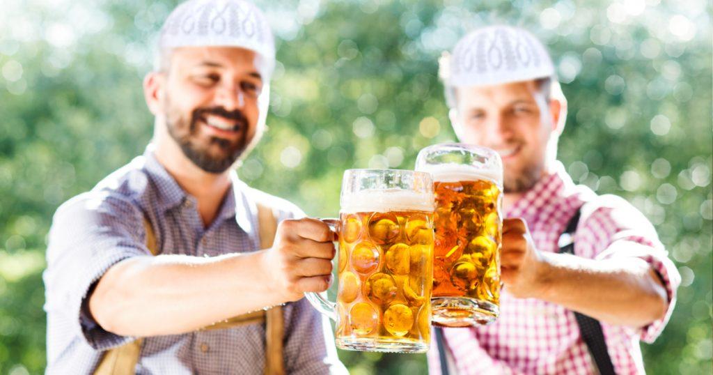 Noktara - Alkoholfreies Maß Bier auf dem Oktoberfest für muslimische Besucher
