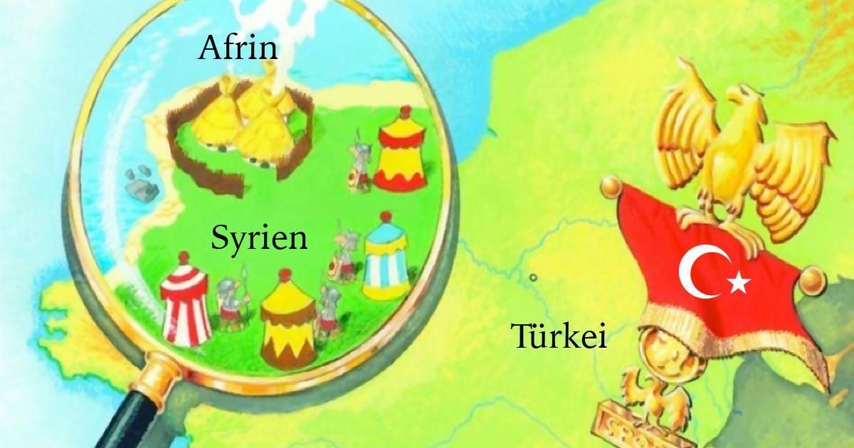 Alles, was man über die Lage in Afrin wissen muss
