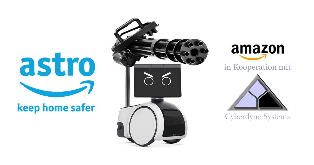 Noktara - Amazon Astro- Kampfroboter sichert die eigenen vier Wände