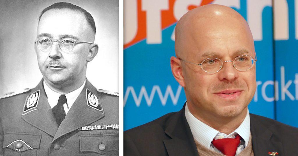 Noktara - Andreas Kalbitz als Heinrich Himmler Doppelgänger