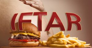 Noktara - Anzeichen, dass du beim Iftar übertrieben hast