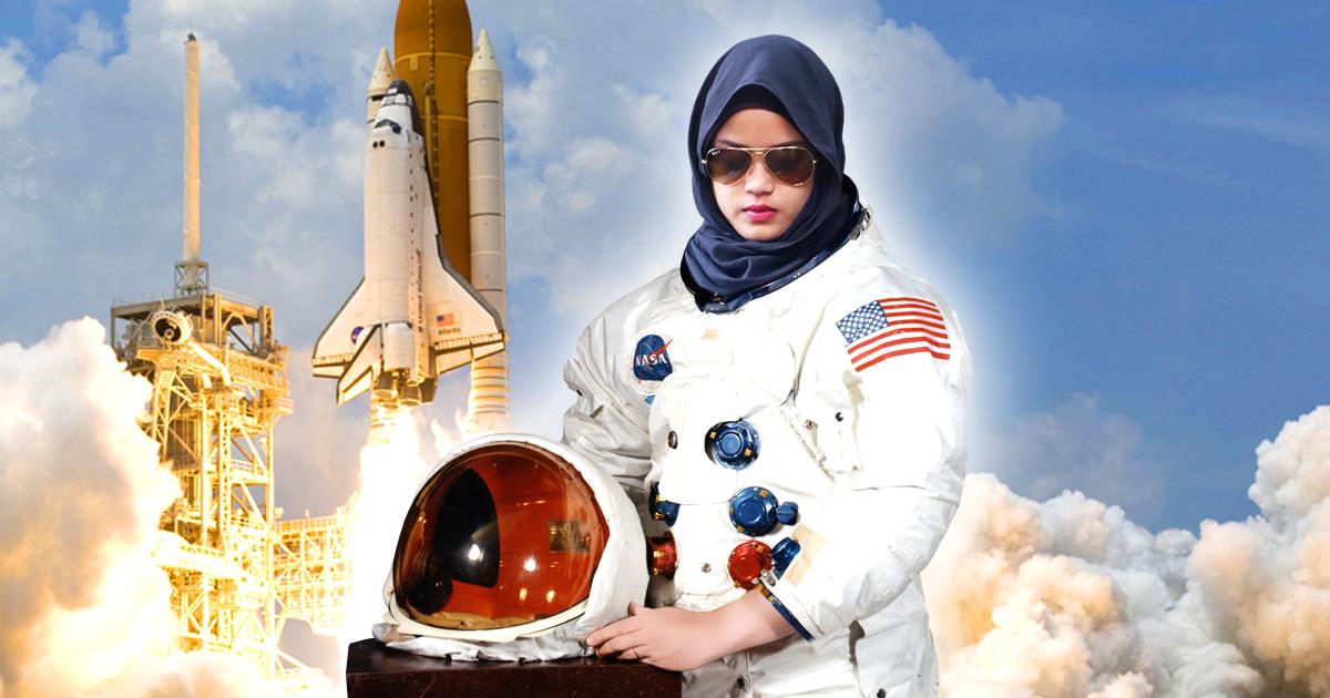 Astronautin: Erste Muslima mit Kopftuch im Weltall
