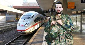 Noktara - Ausländer besorgt sich Bundeswehruniform, um kostenlos Bahn zu fahren
