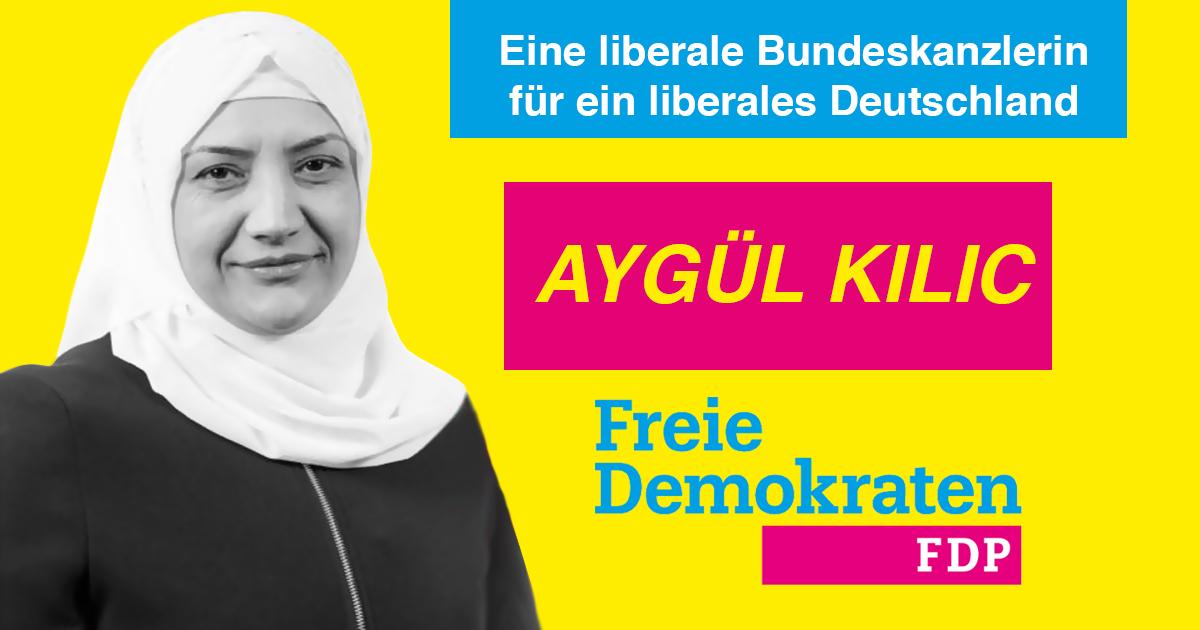 Noktara - Aygül Kilic kandidiert als Bundeskanzlerin