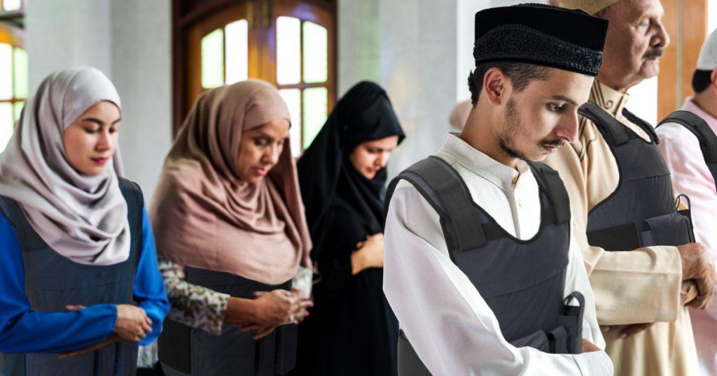 Noktara - Bürger spenden aus Solidarität kugelsichere Westen an Moschee - Christchurch