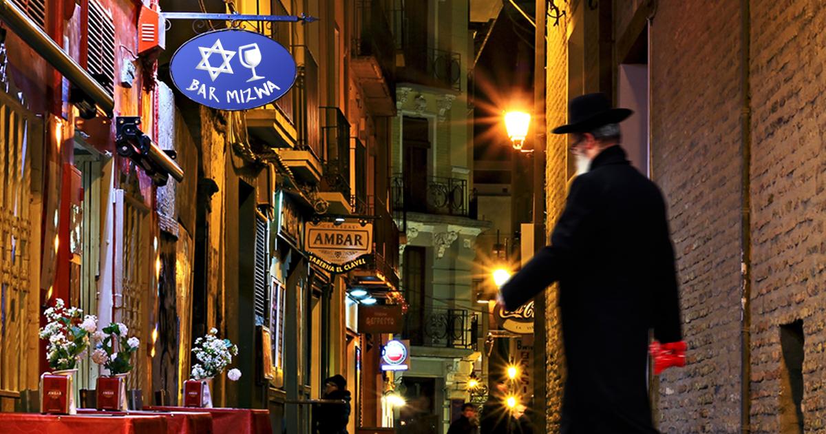 Noktara - Bar Mizwa - Jude eröffnet Kneipe mit koscherem Wein