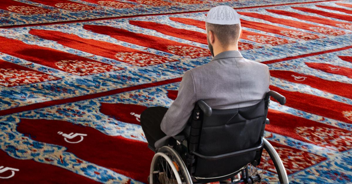 Noktara - Barrierefrei - Moschee richtet rollstuhlgerechte Gebetsplätze für behinderte Muslime ein - rollstuhlgerecht und behindertenfreundlich