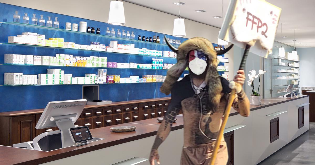 Noktara - Bayerische Apotheken wegen FFP2-Maskenpflicht gestürmt