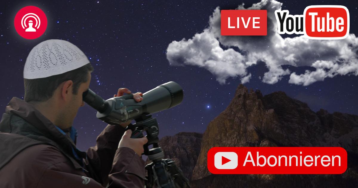 Noktara - Bayram 2018 - Live Mondsichtung zum Ramadanfest