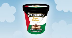 Noktara - Ben & Jerry's- Israel wütend über pro-palästinensische Eiscreme