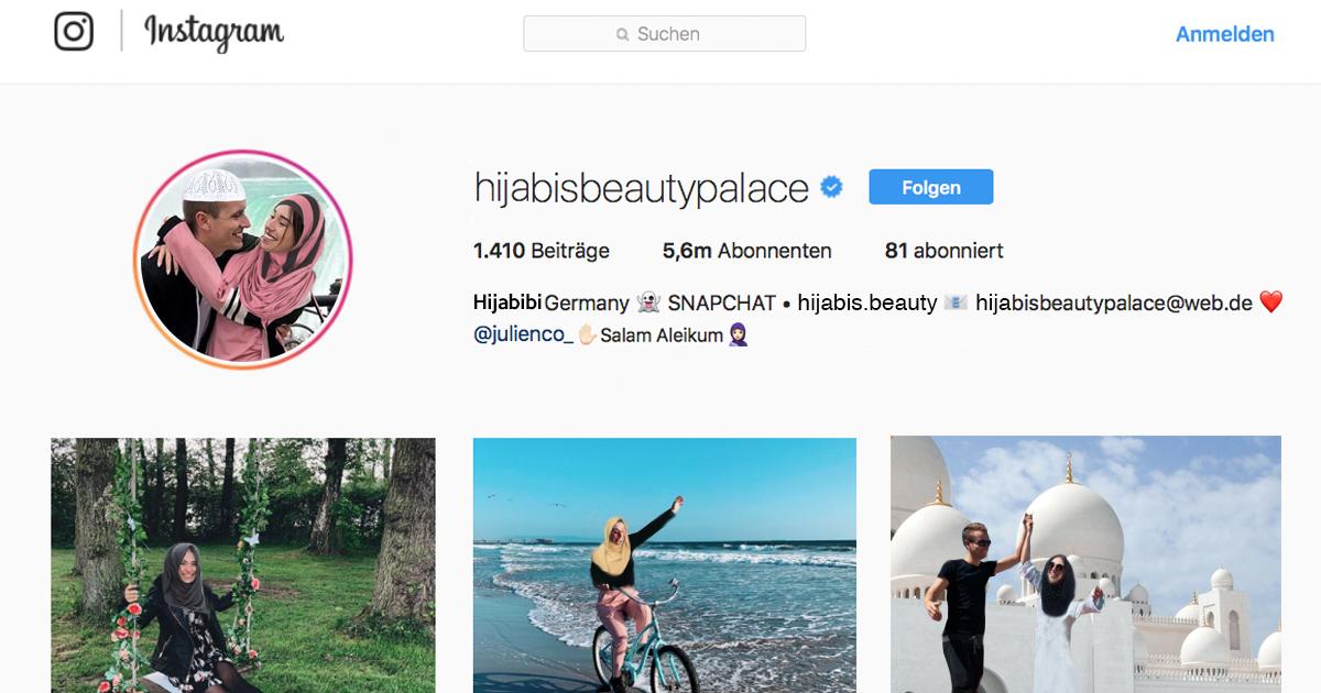Noktara - BibisBeautyPalace postet etwas auf Arabisch - Ist sie etwa konvertiert? - Instagram - HijabisBeautyPalace