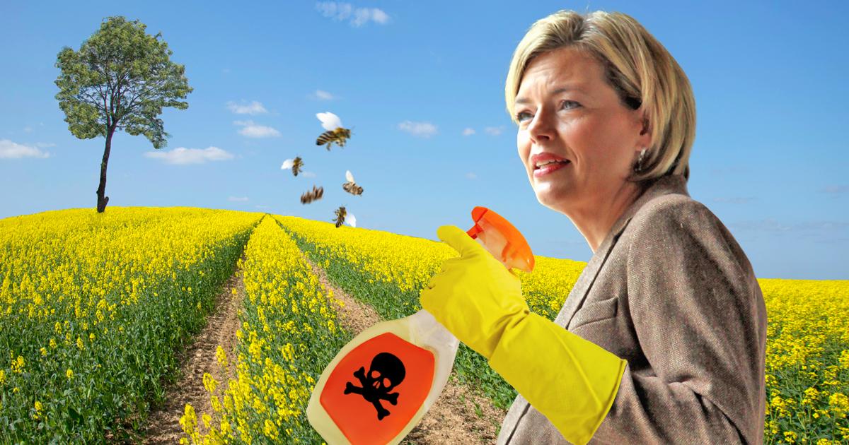 Noktara - Bienensterben- Julia Klöckner rottet letzten Schwarm aus