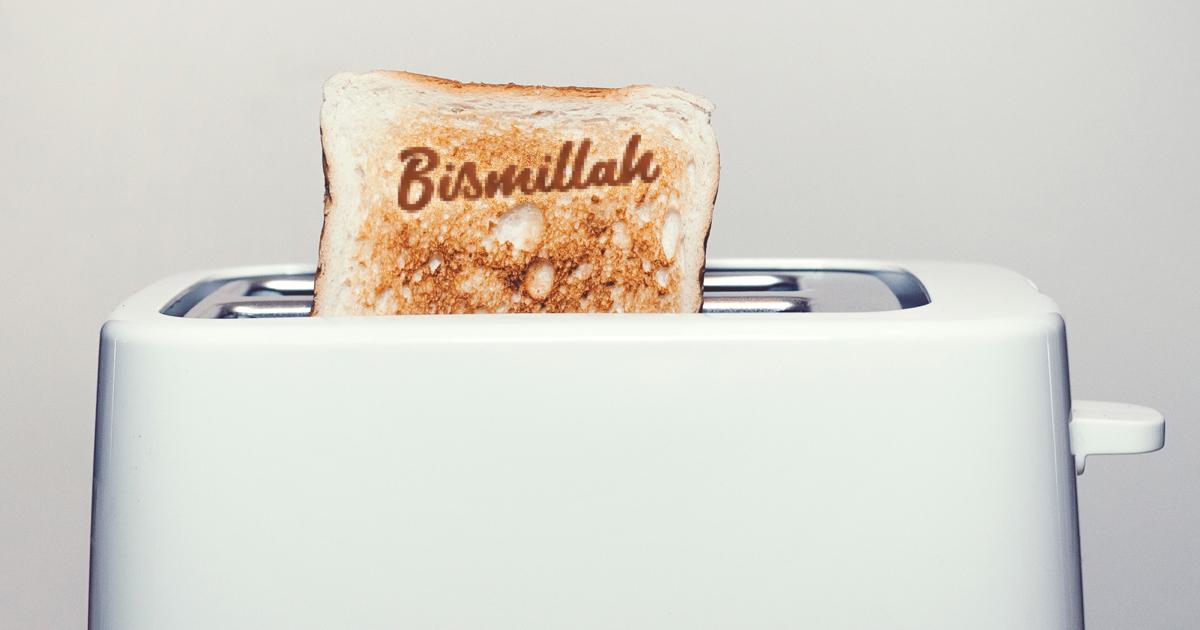 Noktara - Bismillah-Toaster - Für ein gesegnetes Frühstück