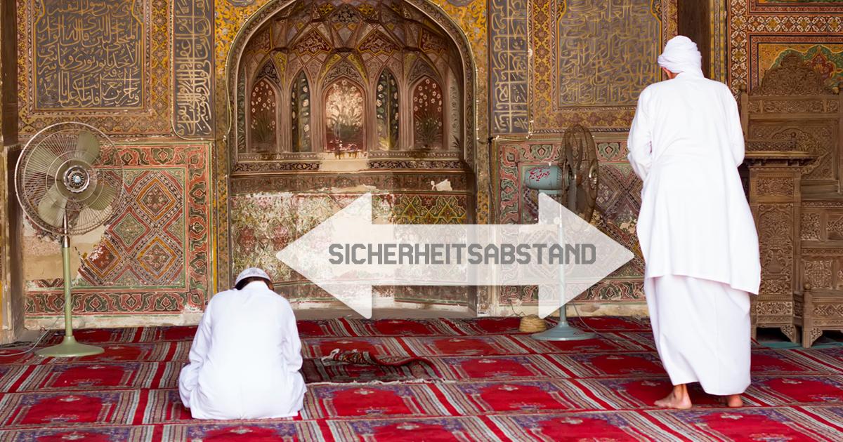 Noktara - Bundesregierung lockert Corona-Schutzmaßnahmen wegen Ramadan - Sicherheitsabstand