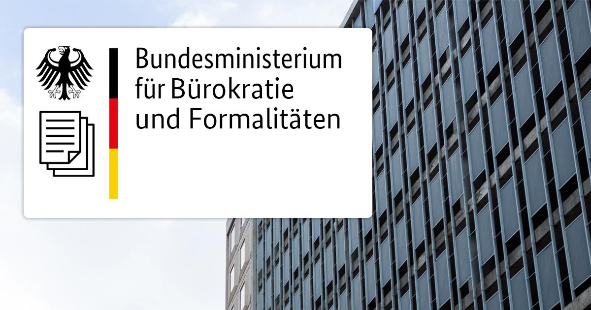 Noktara - Bundesregierung schafft Bürokratiebehörde, um Bürokratie abzubauen - Bundesministerium für Bürokratie und Formalitäten (BMBF)