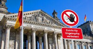 Noktara - Bundestag beschließt 2G-Regel - Ungeimpfte Politiker müssen draußen blieben