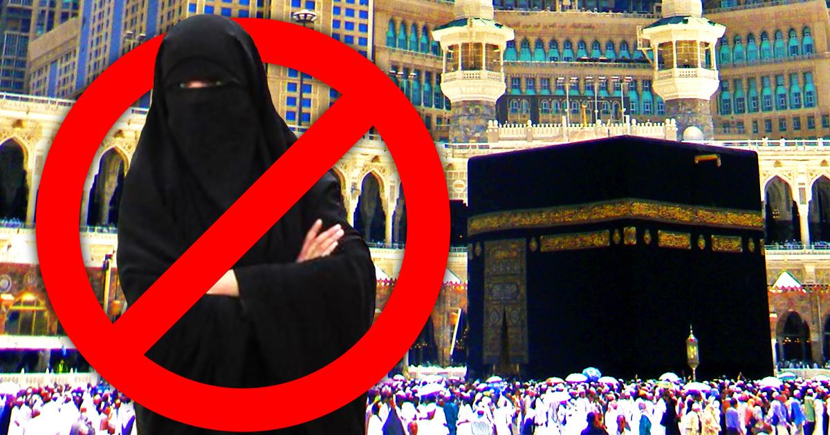 Burkaverbot in Mekka: Saudi-Arabien verweigert Einreise