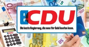 Noktara - CDU-Politiker akzeptieren Bestechungen jetzt auch per Kartenzahlung