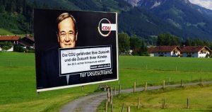 Noktara - CDU-Wahlplakate dürfen nur noch mit Warnhinweis aufgestellt werden