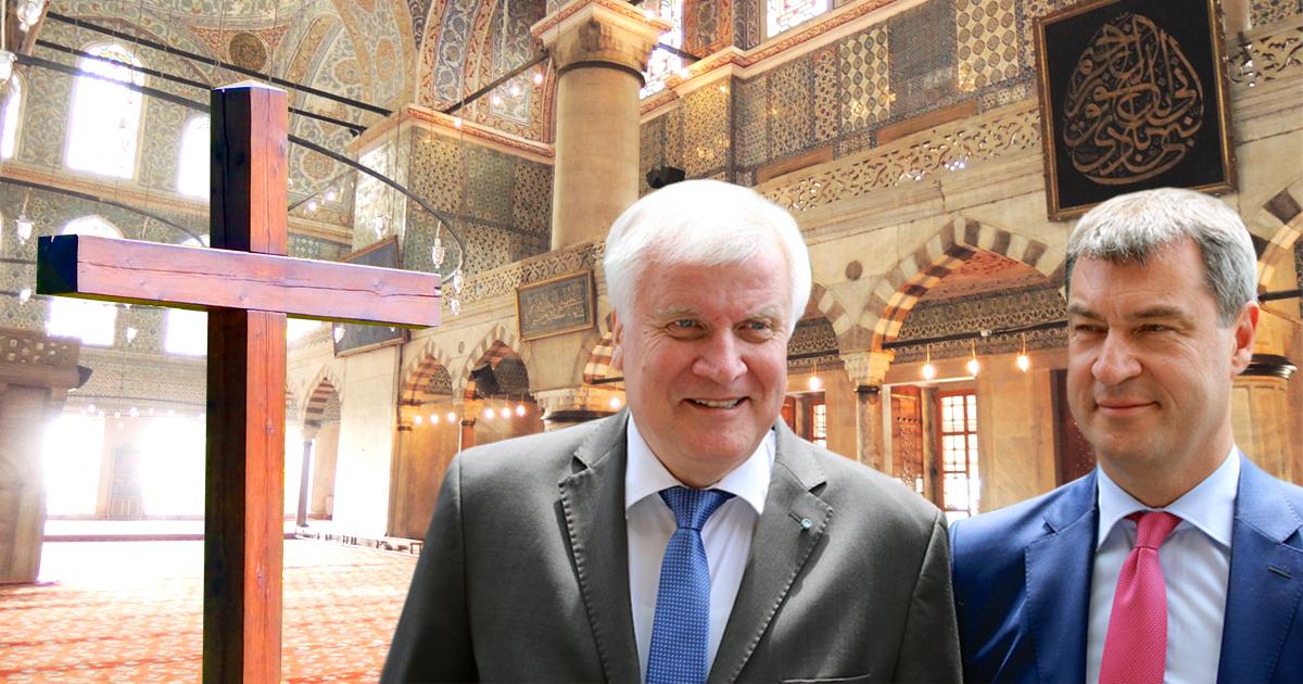 CSU: Künftig Kreuz in jeder bayrischen Moschee