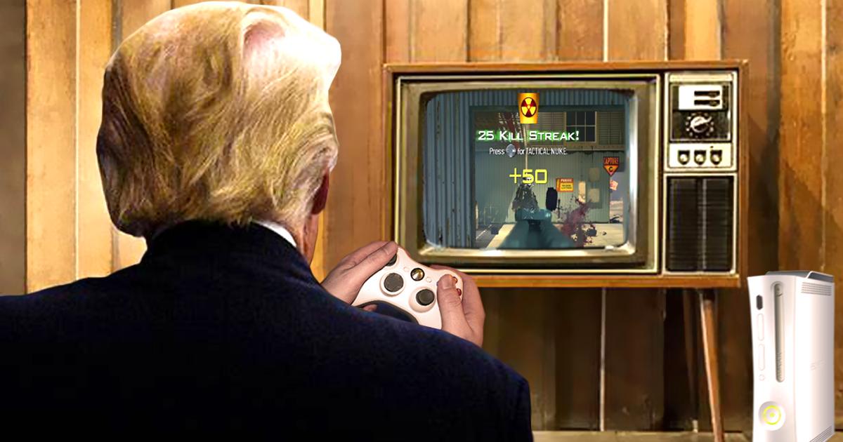 Call of Duty: Trump zündet im Urlaub taktische Atombombe