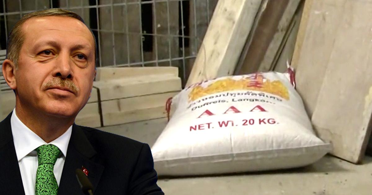 China: Erdogan Schuld an umgefallenem Sack Reis