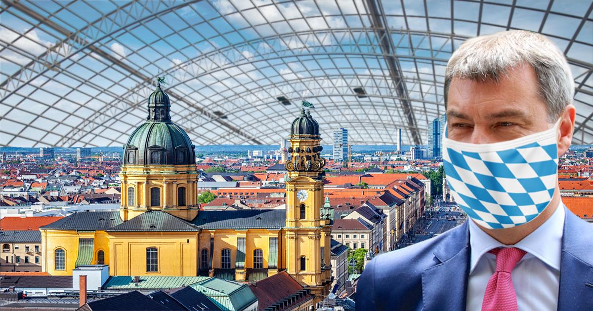 Noktara - Corona-Schutz - Markus Söder schlägt Glaskuppel über München vor