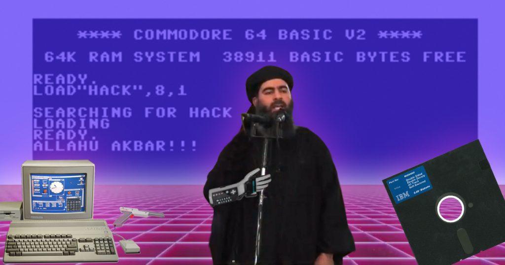 Noktara - Cyber-Terrorismus - IS bekennt sich zum Hackerangriff - Amiga-C64-NES-Floppy