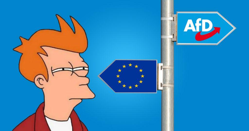 Noktara - DEXIT- AfD wirbt mit EU-Austritt um Stimmen bei EU-Wahl