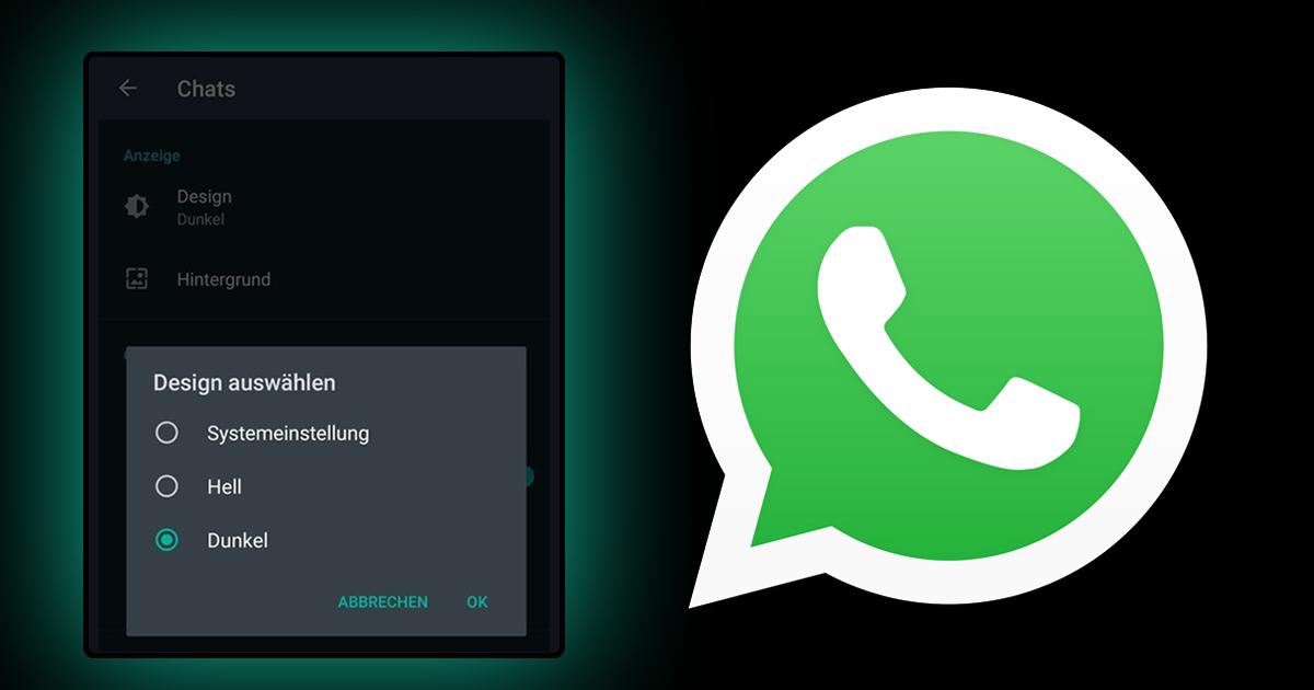 Noktara - Dark Mode - WhatsApp zieht Dunkelmodus wegen Rassismusvorwürfen zurück