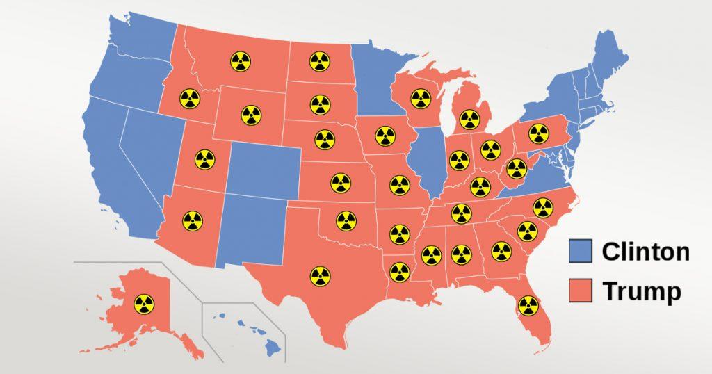 Noktara - Demokraten bitten Iran Atombomben nur auf Trump-Wähler zu werfen
