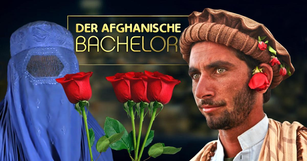 Der afghanische Bachelor: 4 Rosen für 72 Jungfrauen