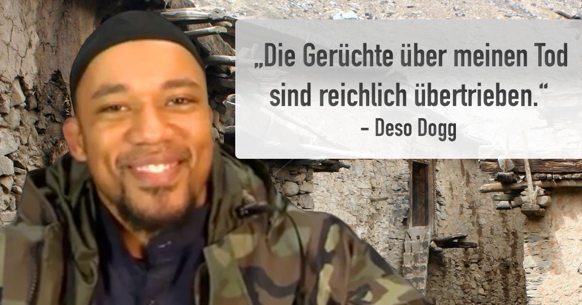 Deso Dogg benennt sich in Deso Cat um, weil er offenbar 7 Leben hat